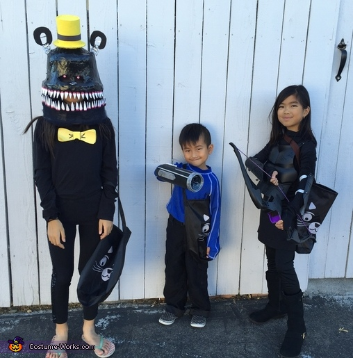 Cannon Blaster Homemade Costume