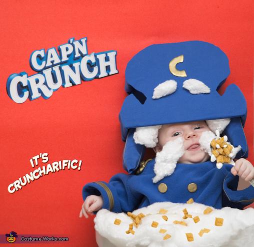 Cap'n Crunch Costume