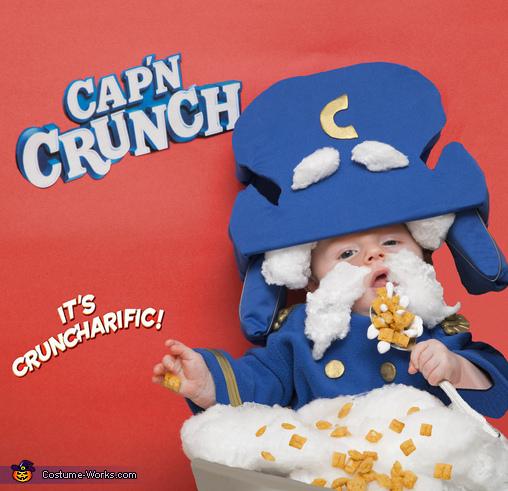 Baby Cap'n Crunch 2, Cap'n Crunch Costume