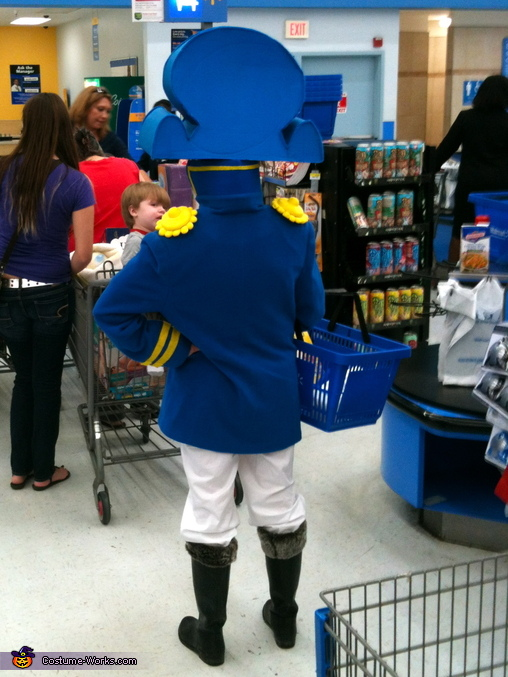...still waiting, Cap'n Crunch Costume