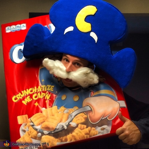capn crunch costume - Captain Crunch Halloween