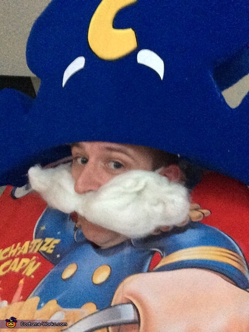 Up Close, Cap'n Crunch Costume