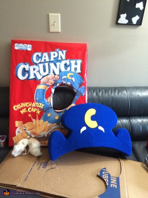 Costume Alone, Cap'n Crunch Costume