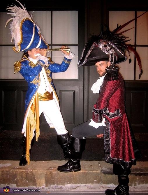 Cap'n Crunch and the Dread Pirate Gingerbeard Costume