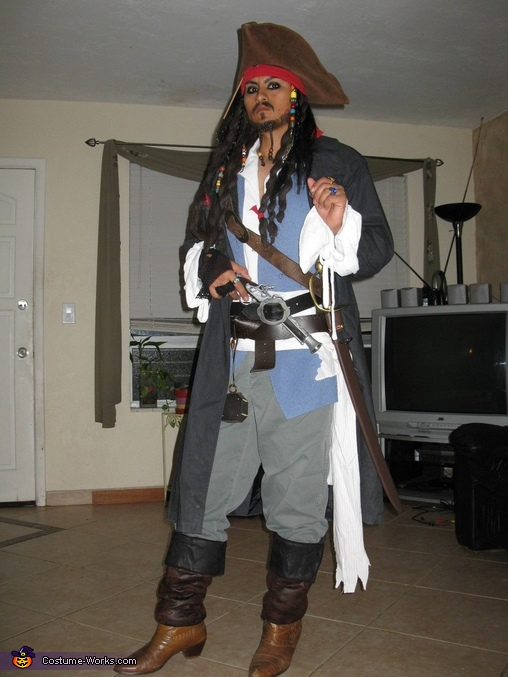Captain jack sparrow prestige adult costume