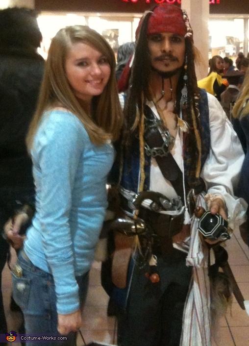Capt. Jack Sparrow Homemade Costume