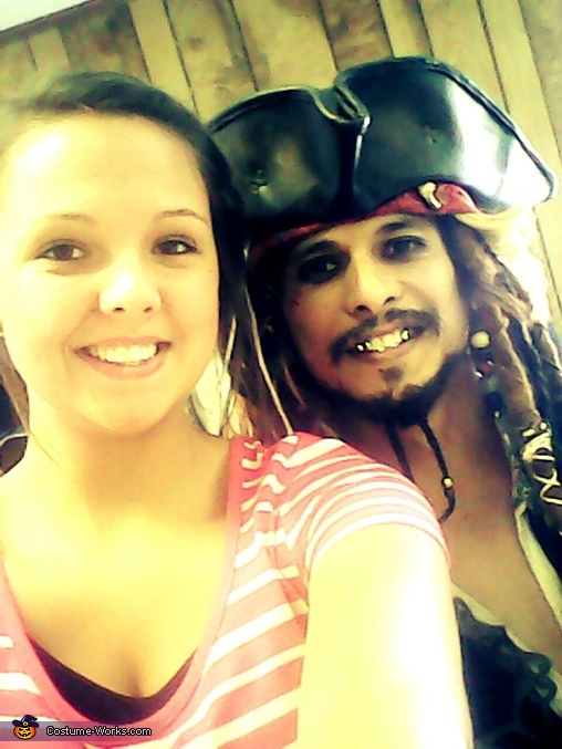 I made the gold teeth too, Capt. Jack Sparrow Costume