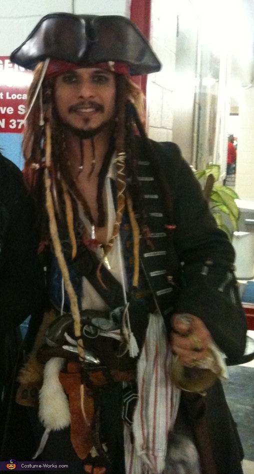 Capt. Jack Sparrow Homemade Costume