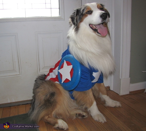 So Happy for Halloween!, Captain America Costume