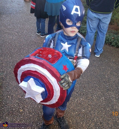 Captain America Boy's Costume