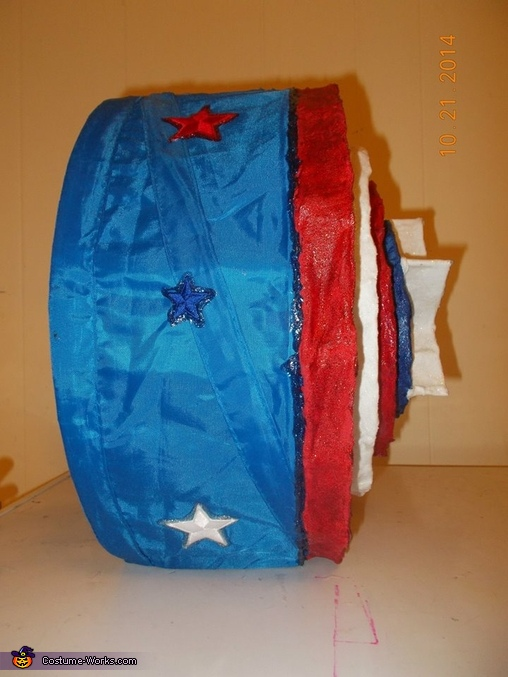 Captain America Homemade Costume