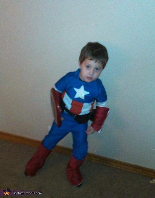 Captain America Boy's Costume