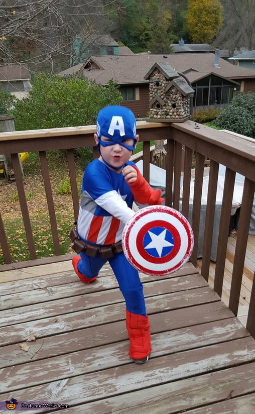 Captain America Homemade Costumes