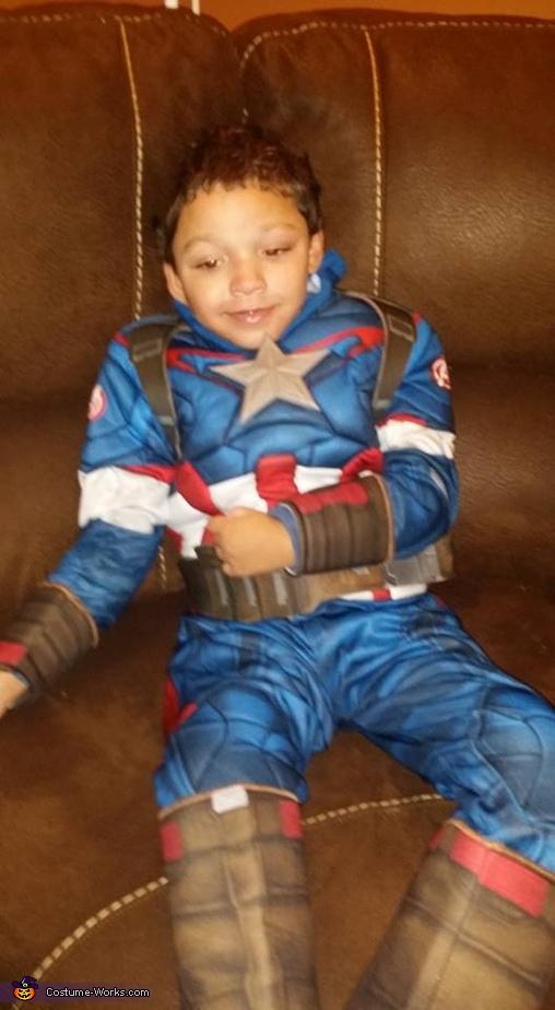 Captain America Homemade Costume