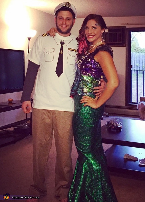Captain and his Mermaid Costume