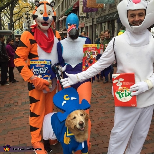 Captain Crunch and the Cereal Bunch Costume