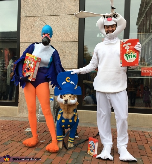 Tony was showing up to this pic....llllllllllllate!, Captain Crunch and the Cereal Bunch Costume