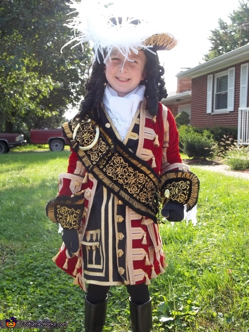 Homemade Captain Hook Costume