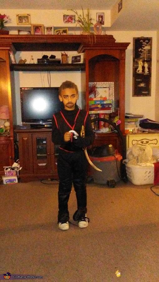 Captain Hook Boy's Halloween Costume Idea