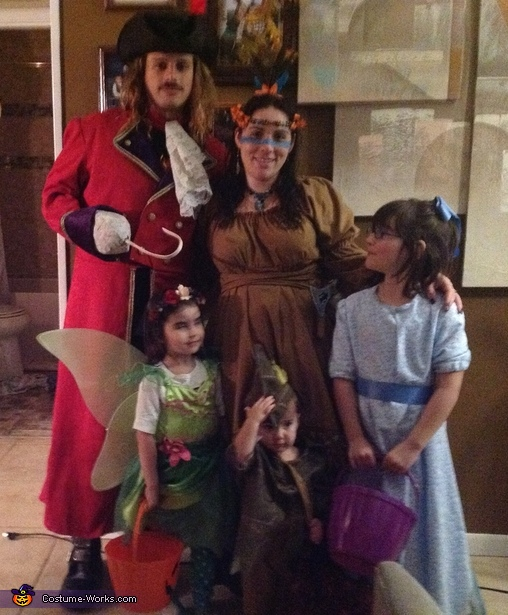 Captain Hook and Peter Pan Costume
