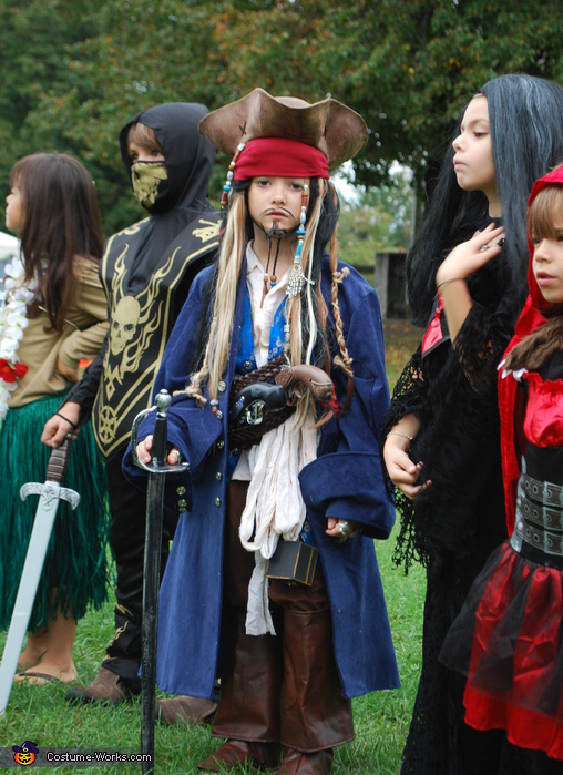 Jack Sparrow - Homemade costumes for boys