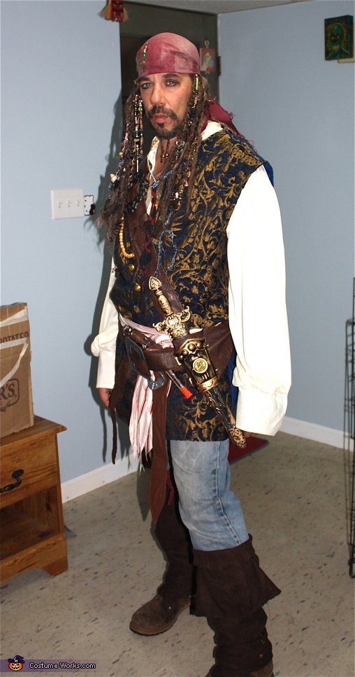 Men's Captain Jack Sparrow Costume