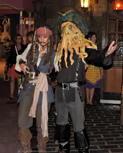 Captain Jack Sparrow Homemade Costume