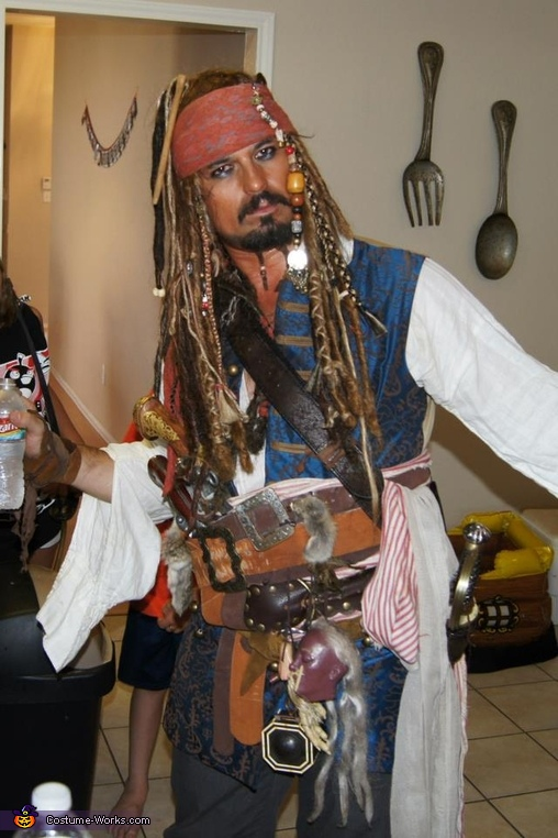 captain jack sparrow halloween costume - Jack Sparrow Halloween Costumes