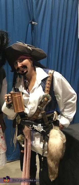 Capt Jack Sparrow, Captain Jack Sparrow Costume