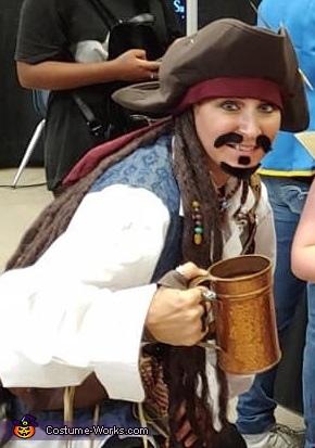 Captain Jack Sparrow Homemade Costume