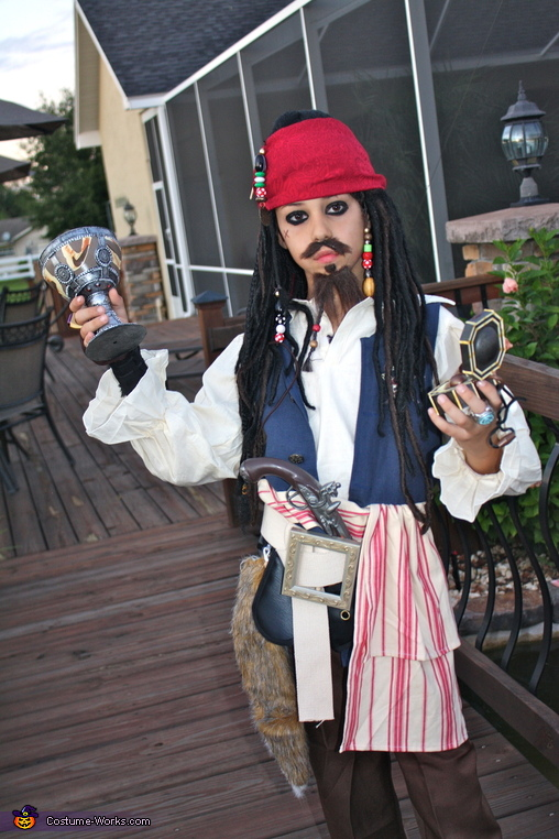 captain jack sparrow costume - Jack Sparrow Halloween Costumes