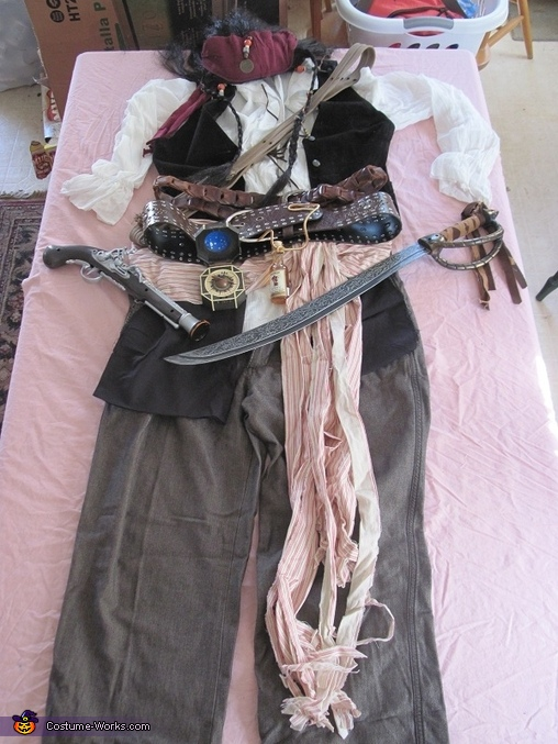 Captain Jack Sparrow Costume