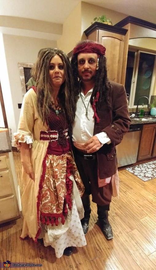 Captain Jack Sparrow and Calypso Costume