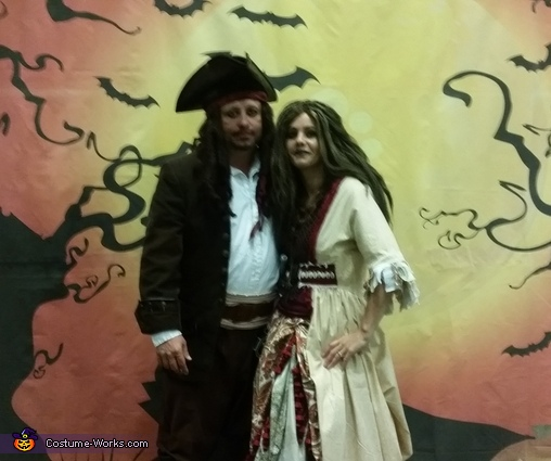 Captain Jack Sparrow and Calypso Homemade Costume