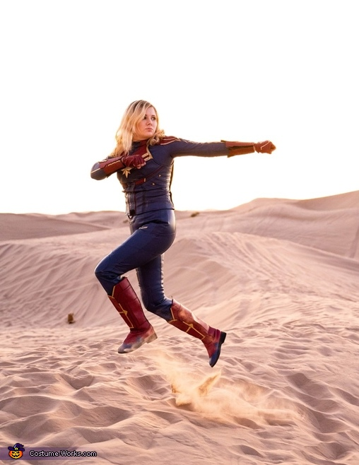 Action!, Captain Marvel Costume