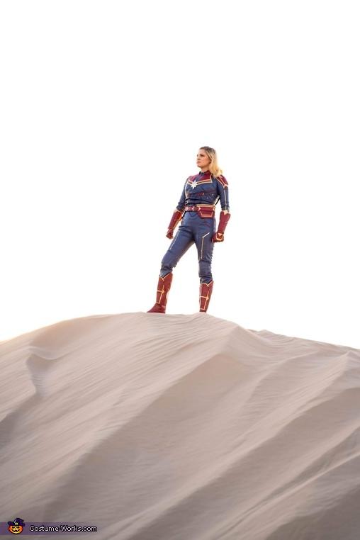 Desert Time, Captain Marvel Costume