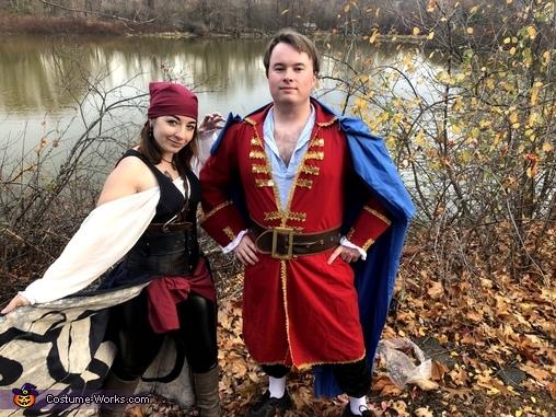 ...in crime, Captain Morgan and The Kraken Costume