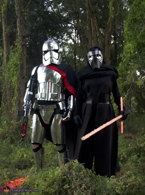Captain Phasma and Kylo Ren Costume