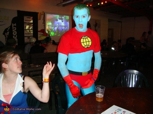 captain planet halloween costume