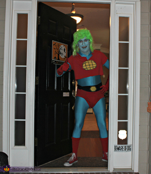 Trick or Treat kiddos ! , Captain Planet Costume