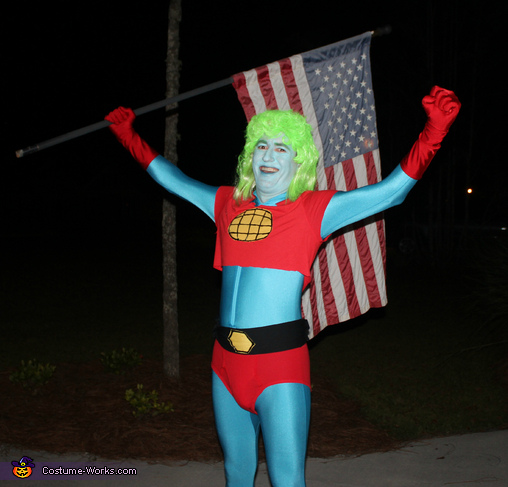 Captain Planet Homemade Costume