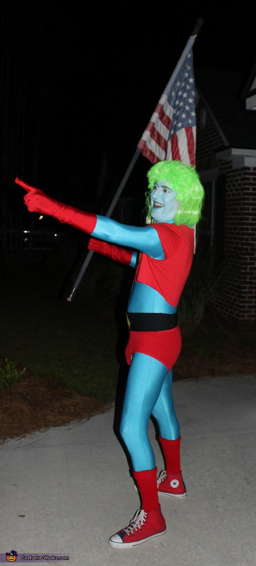Captain Planet Homemade Costume