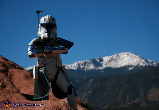 Captain Rex Over Pikes Peak, Captain Rex Costume