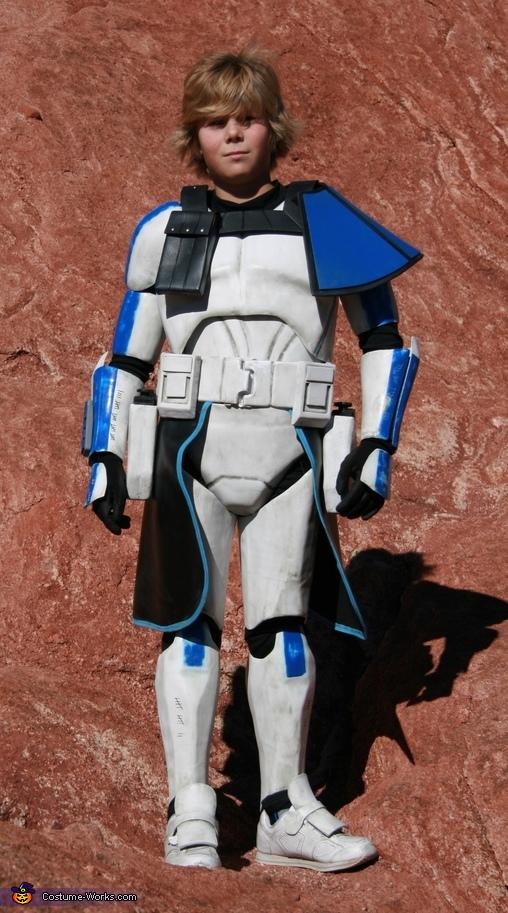 Front, Captain Rex Costume