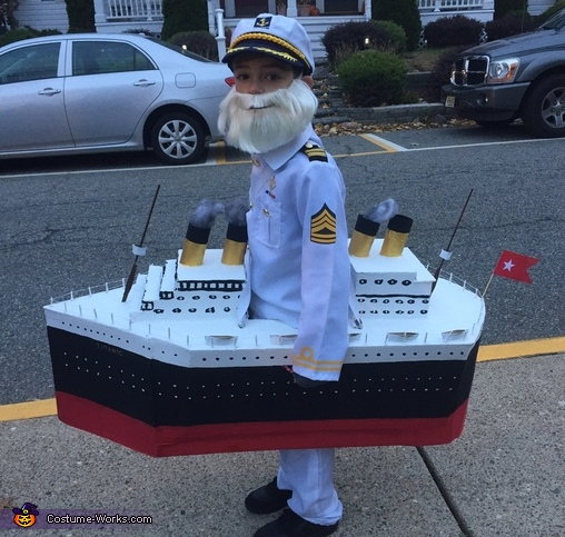 Captain Smith and the Titanic Costume