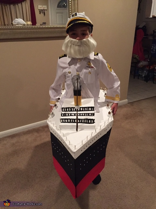 Captain Smith and the Titanic Homemade Costume