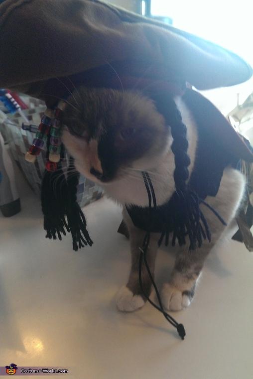 swab the decks, Captain Sparrow Costume