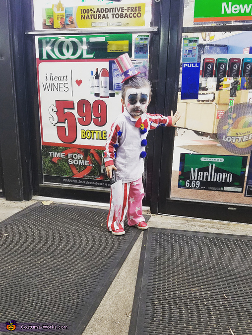 Captain Spaulding Baby Boy Homemade Costume