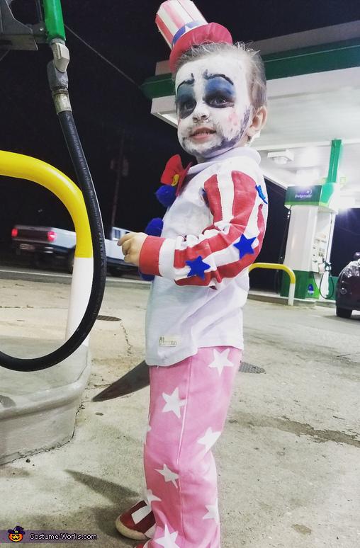 Captain Spaulding Baby Boy Homemade Costume