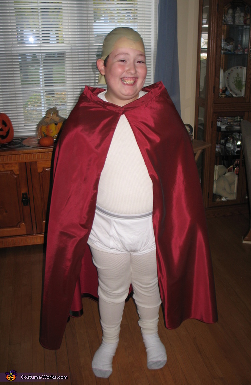 Captain Underpants - Homemade costumes for boys